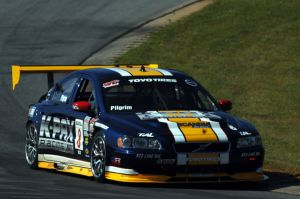 Andy Pilgrim earned his first GT pole of the season.