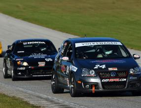 Touring 3 Cars at the 2011 Runoffs (Weber Image)
