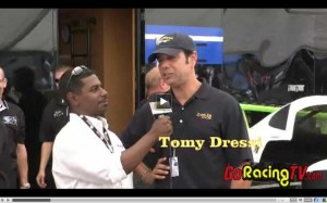 2010 Trans Am Road America driver interviews after practice sessions.