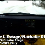 Antoine L'Estage in-car at Sno*Drift 2011