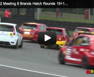 UK Dunlop Ford Fiesta Championship Meeting 15+16 Brands Hatch