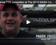 Mark Freemal TTE competitor at The 2012 NASA Championships