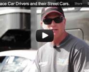 Mazda Race Car Drivers and their Street Cars