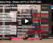 NARRA Weekend Wrap – Whelen USTTC &   USGTC Season Finale at Watkins Glen