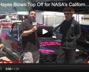 Charlie Hayes Blows Top Off for NASA's California Crown