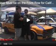 Larry Fraser Must be on the Front Row for California Crown