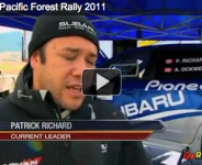 CRC – RICHARD PUTS SUBARU ON TOP OF PODIUM AT PACIFIC FOREST RALLY