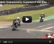 2012 Scottish Championship Supertwin/F400 Bike Racing @ Knockhill Program 2