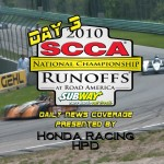 <b>GoRacingTV's Daily News Show from the 46th annual SCCA Runoffs News coverage i...</b>