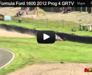 2012 Scottish Formula Ford 1600 Meeting 4 KNOCKHILL