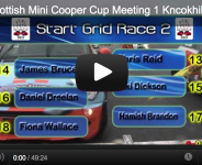 2012 Scottish Mini Cooper Cup Meeting 1 Kncokhill
