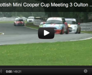 2012 Scottish Mini Cooper Cup Meeting 3 Oulton Park