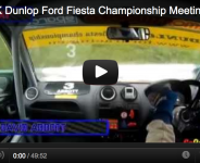 2012 UK Dunlop Ford Fiesta Championship Meeting 7&8 Cadwell Park