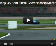 2012 Dunlop UK Ford Fiesta Championship Meeting 5&6 Donington GP