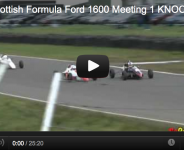 2012 Scottish Formula Ford 1600 Meeting 1 KNOCKHILL