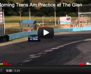 Friday Morning Trans Am Practice at The Glen